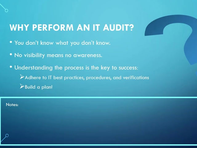 How to Perform an Internal Network Audit